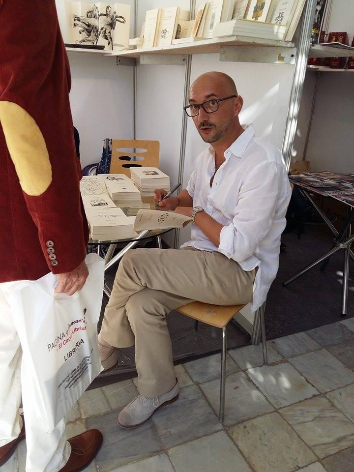 Salon du livre Tanger 2015 - Philippe Guiguet Bologne